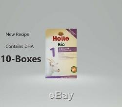 10-Boxes-Holle Organic Goat Milk Formula Stage 1 400g Free Shipping EXP-7/21
