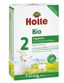 10 x Boxes Holle Goat Milk Stage 2 Organic Formula 400g