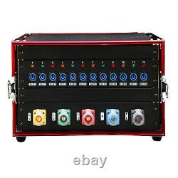 12 Channel Power Distributor Power Distro Box Stage DJ Lighting Party Event Show