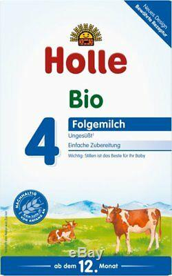 12 x Boxes Holle Organic Stage 4 Baby Infant Formula Germany Exp. 12-2020 New