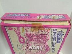 1978 Barbie Remote Control Stage, Superstar Stage Show #2328, New With Box