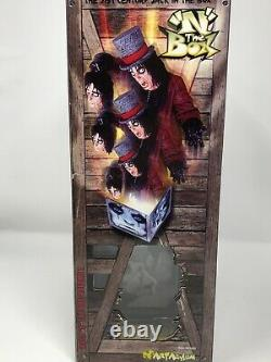 2001 Art Asylum Alice Cooper Rock N The Box & Super Stage Figure NEW IN BOXES