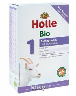 20 x Boxes Holle Stage 1 Goat Milk Organic Formula 20x400g