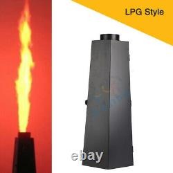 2Pcs 200W LPG Six Corner Spark Flame Machine Dmx Fire projector For Stage Effect