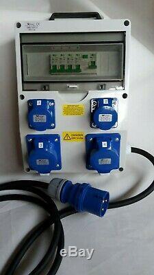 32Amp Distribution board, power box, Hook Up, stage, event distro, 240V splitter