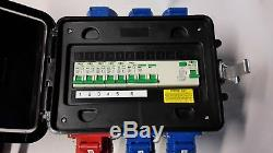 32Amp Portable distribution board, power box, stage, event distro, 3phase splitter