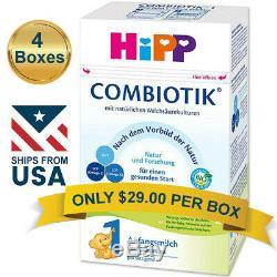4 BOXES HiPP Combiotic Stage 1 Infant Milk Formula FREE SHIPPING COMBIOTIK