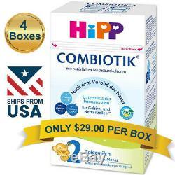 4 BOXES HiPP Combiotic Stage 2 Infant Milk Formula FREE SHIPPING COMBIOTIK