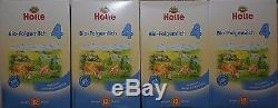 4-BoxesHolle-Organic-Baby-Infant-Formula-Stage 4 FREE-Priority shipping EX6/21