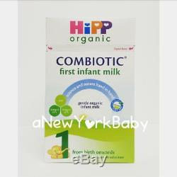 4 Boxes HiPP Organic Combiotic First Infant Milk Stage 1 UK Version 800g