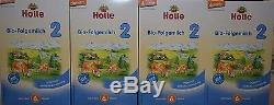 4-Boxes Holle-Organic-infant-Formula-Stage 2 Free priority shipping