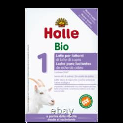 4 boxes Holle Organic Infant Goat Milk Powder Stage 1. With DHA. 01/30/22