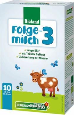 5 -boxes Holle lebenswert-bio Stage- 3 Free PRIORITY Shipping