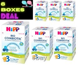 6 Boxes HiPP Stage 3 Germany Bio Combiotic Infant Formula 600g Free Shipping