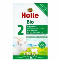 6-Boxes Holle Organic Goat Milk Organic Formula Stage 2 400g