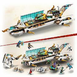 71756 LEGO Ninjago Hydro Bounty Ninja Set 1159 Pieces Age 9 Years+