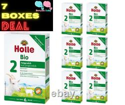7 Boxes Holle Goat Milk Stage 2 Organic New Formula With DHA Germany Free Ship
