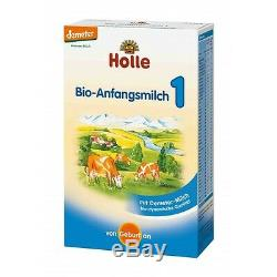 7 Boxes Holle Organic Infant Baby Formula Stage 1 / Fresh from Germany New
