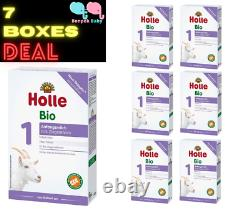 7 Boxes New Holle Goat Stage 1 Organic Formula Holle Goat1 Exp. 3/1/2022+