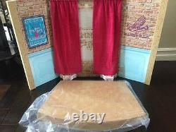 American Girl Tenney Grant music Stage Dressing Room ONLY NEW in Box 18 doll