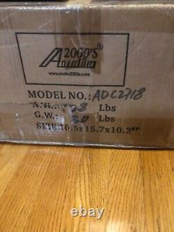 Audio2000'S Snake Multi Core Cable & Stage Box 100ft Instrument Mixer ADC2718