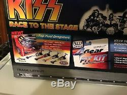 Auto World Kiss Race To The Stage Slot Car Pro Drag Racing Strip New In Box