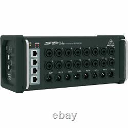 Behringer SD16 mint I/O Stage Box Digital Snake Remote Controllable USB 16-CH