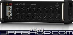 Behringer SD8 I/O Stage Box with 8 Remote-Controllable MIDAS Preamps New JRR Sho