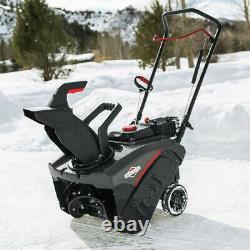 Briggs & Stratton 127cc Gas Single Stage Snow Thrower Blower, 18 Inch (Open Box)