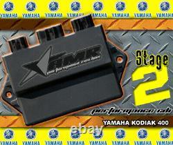 CDI Box High Performance Rev Module for Yamaha Kodiak 400 2004-2006 Stage 2