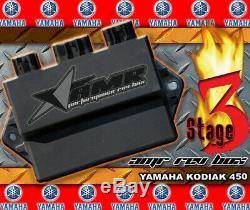 CDI Box High Performance Rev Module for Yamaha Kodiak 450 All Years Stage 3