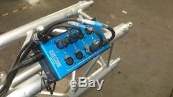 CatCore SMD-3F5F 2x 4 XLR / CAT Adapter Stagebox Cat-Multicore Ethercon RJ45