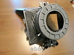 Cavision MB413B-3 Bellows Matte Box 3 Filter Stages & top French flap