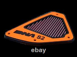 DNA 2012+ KTM Duke 690 Stage 2 Reusable Motorcycle Air Box Filter Cover
