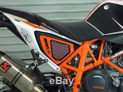 DNA Air Box Filter Cover Stage 2 for KTM 690 Duke ABS (13-17) PN P-KT6SM13-S2