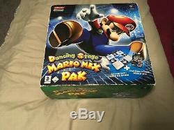Dancing Stage Mario MIX Pak. Nintendo Gamecube Mat & Game. New Sealed Box