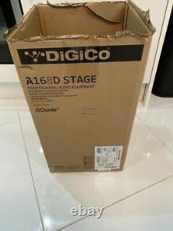 Digico Dante A168d Stage Box 16 Analog Inputs X 8 Output I/o Expander Boxeduk