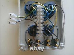 Distribution board, power box, Hook Up, stage, event, 3-phase to 240v 4-way split