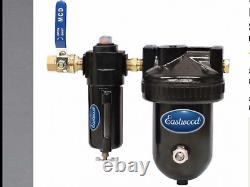 Eastwood 2 stage desiccant air drying system 1/2NPT. New In Box