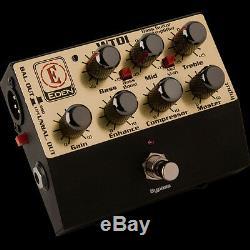 Eden WTDI World Tour Direct Box/Preamp DI Bass Pedal 3 Stage EQ