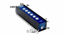 Elite Core Stage Power AC Box Neutrik PowerCon Inputs to 6 PowerCon Gray B Out