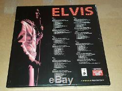 Elvis Collectors Box 5 LP/3 CD set Back on stage Las Vegas 1970 coloured