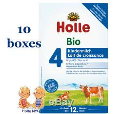 FREE SHIPPING Holle stage 4 Organic Formula 02/2020, 600g, 10 BOXES