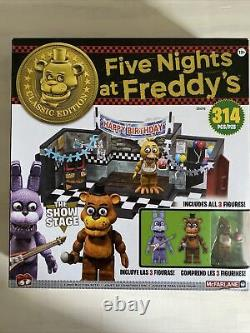 Five Nights At Freddys The Show Stage Classic Series Construction Set 314 PCS