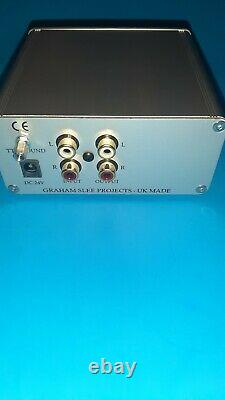 Graham Slee Fanfare Gram Amp 3 Moving Coil Phono Stage, New open box