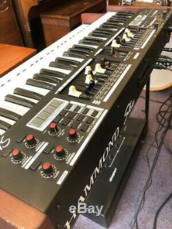 Hammond SKX 61-Key Dual Manual Stage Keyboard Organ Drawbars Open Box Demo