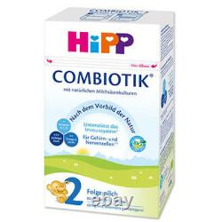 HiPP Stage 2 Bio Combiotic Infant Formula 10 Boxes 600g Free Shipping