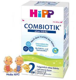 HiPP Stage 2 No Starch Bio Combiotic Infant Formula 3 Boxes 600g Free Shipping