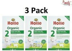 Holle Goat Milk Stage 2 Organic Formula 400g Free Shipping (3 BOX)