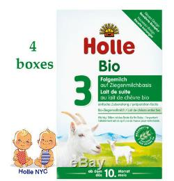 Holle Goat Stage 3 Organic Milk Formula 400g FREE SHIPPING 4 Boxes 05/2020